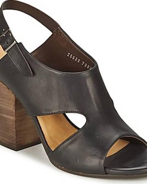Černé sandály Coclico