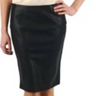 La City Krátké sukně JUPE BIMAT Černá