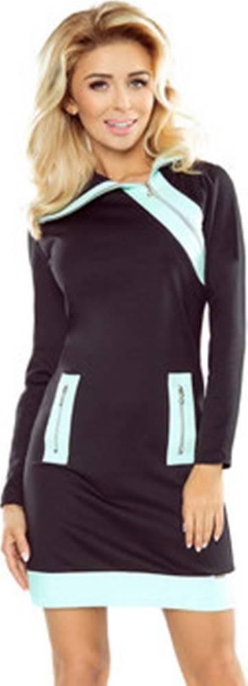 Numoco Numoco Krátké šaty Dámské šaty 129-6 ruznobarevne