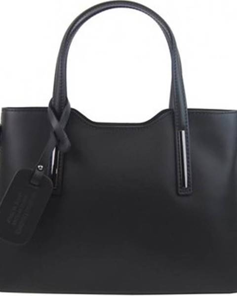 Černá kabelka Borse In Pelle