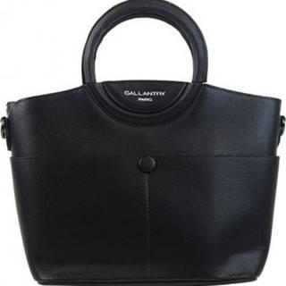 Gallantry Kabelky Moderní menší dámská kabelka do ruky černá Černá