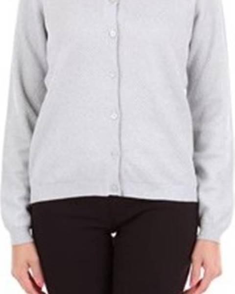 Stříbrný svetr Moschino