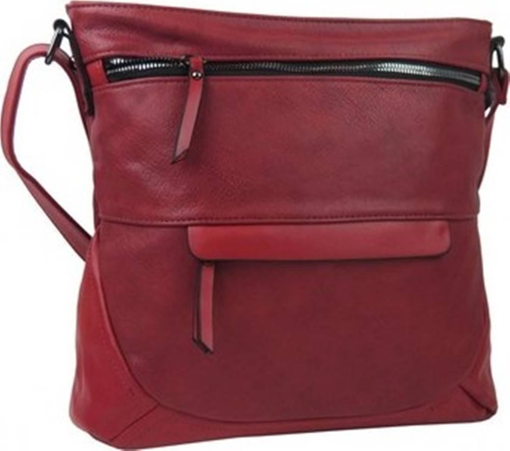 Rosy Bag Rosy Bag Kabelky s dlouhým popruhem Červená crossbody dámská kabelka střední velikosti T5069 Červená