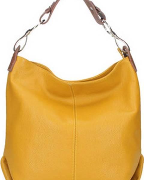 Žlutá kabelka Diva