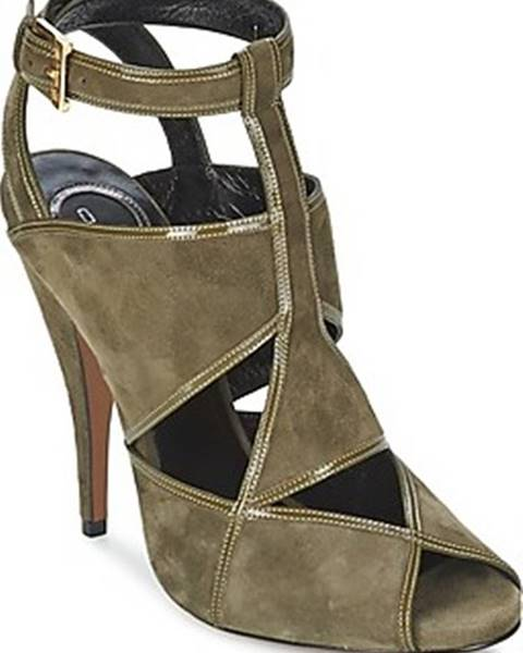 Zelené sandály ETRO