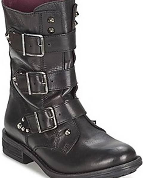 Černé boty Ikks