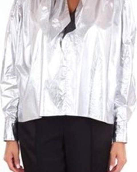 Stříbrná halenka Isabel Marant