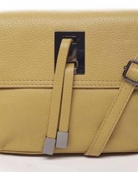 Žlutá kabelka ITALY