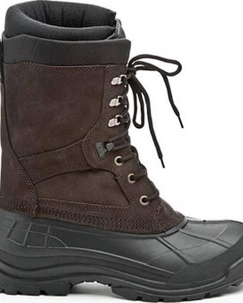 Černé boty KAMIK