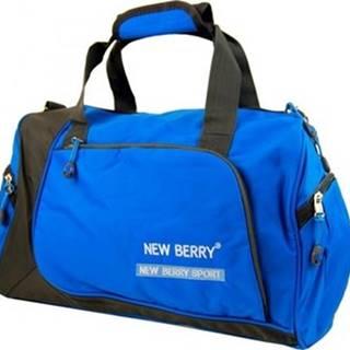 New Berry Sportovní tašky Sportovní taška 5333 modro-šedá ruznobarevne