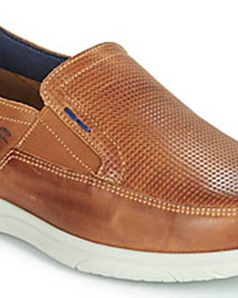 Hnědé boty Fluchos