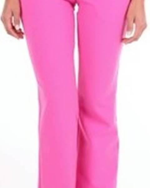 Fialové kalhoty Moschino
