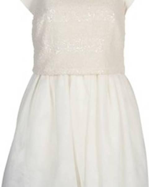Bílé šaty Naf Naf