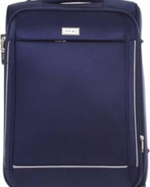 Modrý kufr Ormi