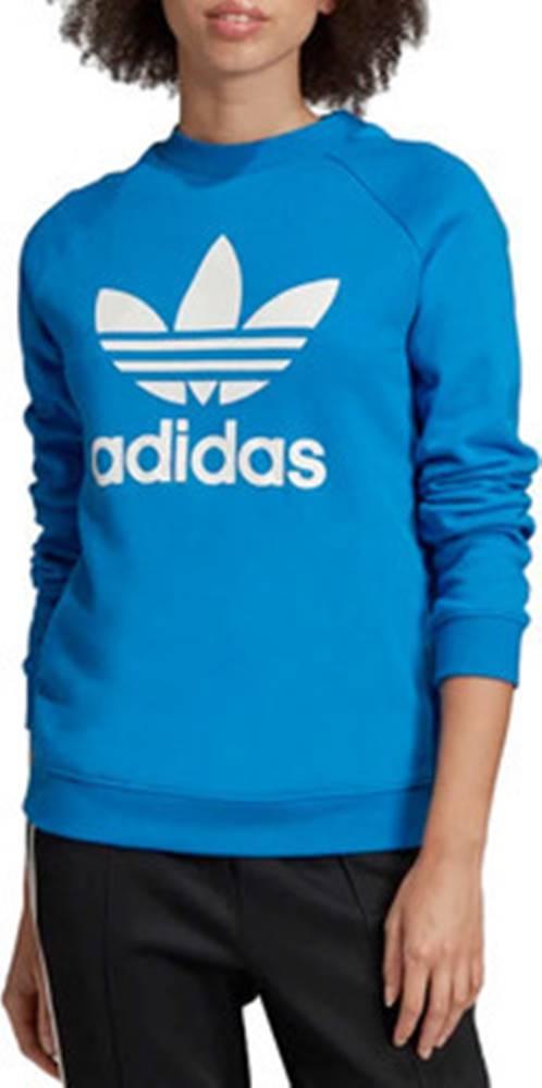 adidas adidas Mikiny Trefoil Crewneck Sweatshirt ED7582 ruznobarevne