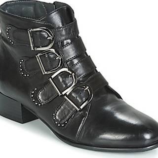 Metamorf'Ose Kotníkové boty FAMO Černá