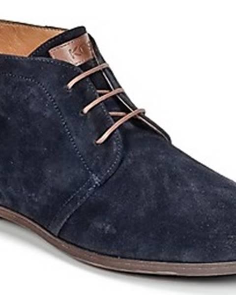 Modré boty Kost