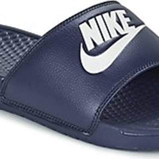 Nike pantofle BENASSI JDI Modrá