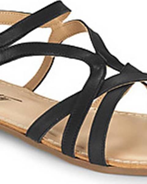 Černé sandály Betty London