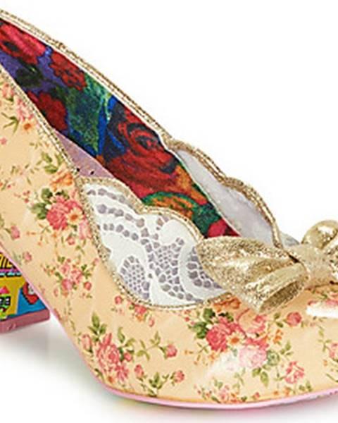 Béžové boty Irregular Choice