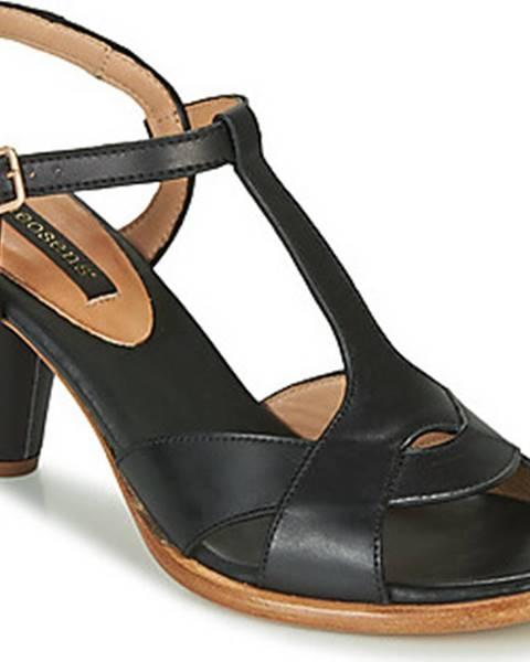 Černé sandály Neosens