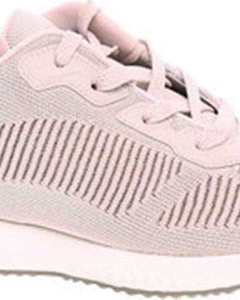 Růžové tenisky Skechers
