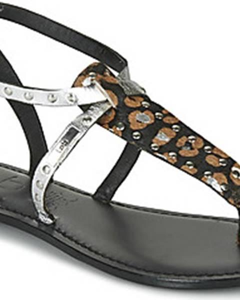 Černé sandály Les Petites Bombes