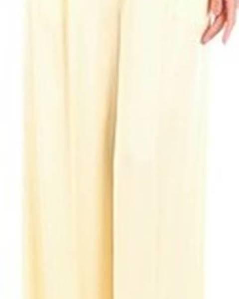 Žluté kalhoty Semicouture