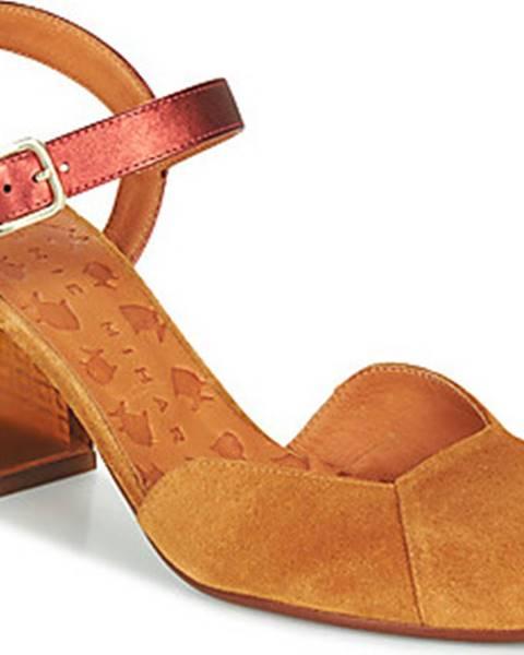 Hnědé boty Chie Mihara