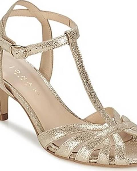 Zlaté sandály Jonak