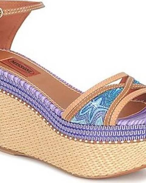 Modré sandály Missoni