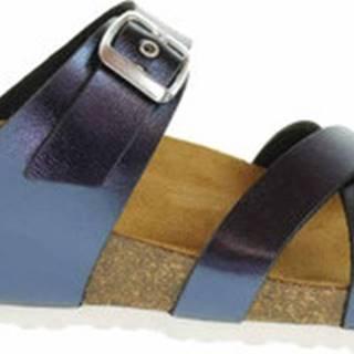 Bio Life Dřeváky Dámské pantofle 1841.07 blau Peggy 347 Modrá