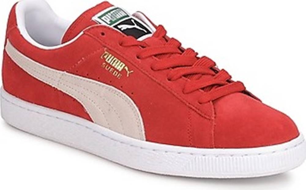 puma Puma Tenisky SUEDE CLASSIC + Červená