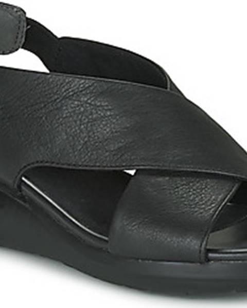 Černé sandály Camper