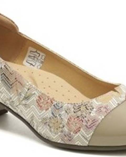 Béžové boty Mintakacz