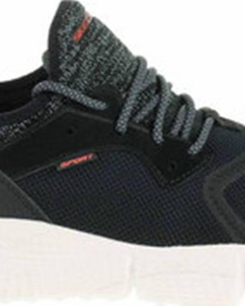 Černé tenisky Skechers