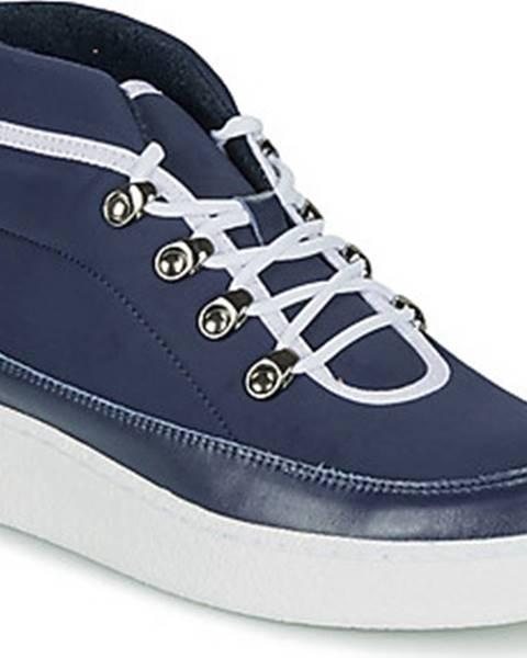 Modré boty Aigle