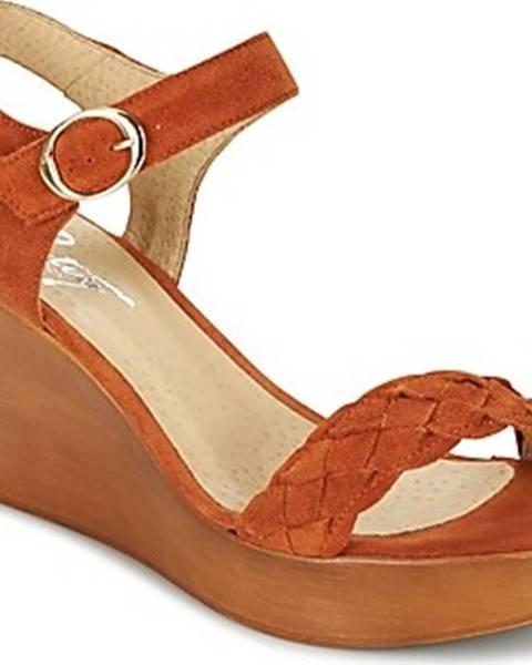 Oranžové sandály Betty London