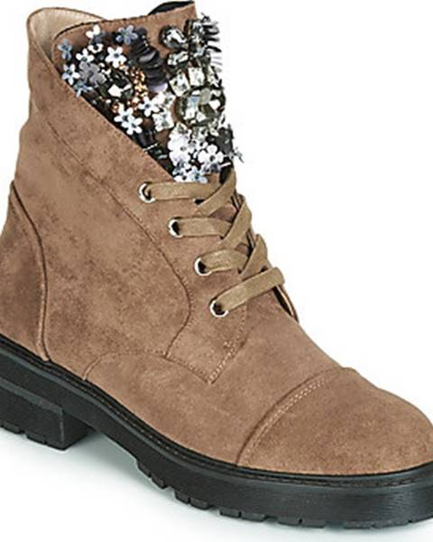 Hnědé boty Elue par nous