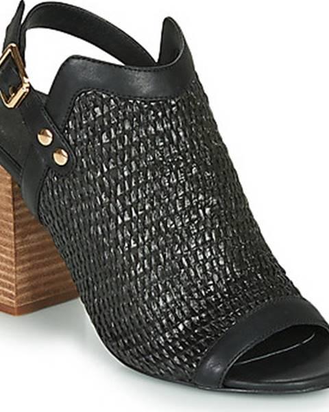 Černé sandály Ravel
