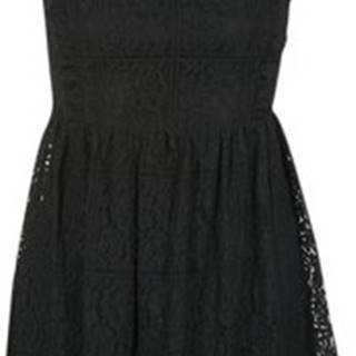 Betty London Krátké šaty GLATOS Černá