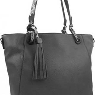 Bella Belly Velké kabelky / Nákupní tašky Středně šedá kabelka přes rameno 4919-BB