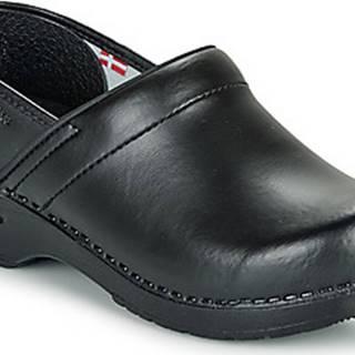 Sanita Pantofle PROF Černá