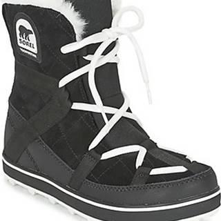 Sorel Zimní boty GLACY EXPLORER SHORTIE Černá
