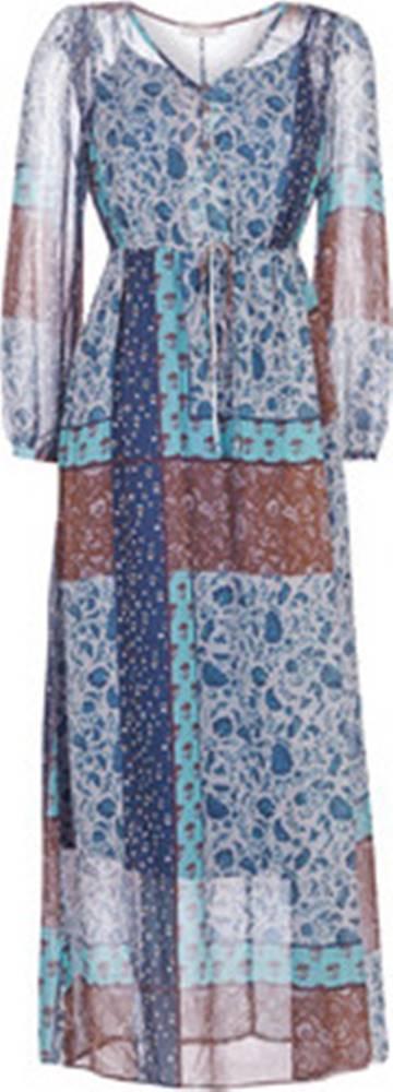Cream Cream Společenské šaty SAMA Modrá