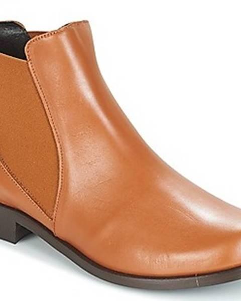 Hnědé boty So Size