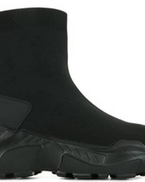 Černé tenisky Versace