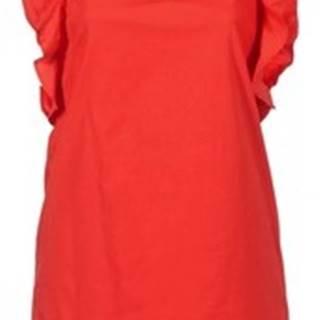 Pepe jeans Krátké šaty EDURNE Červená