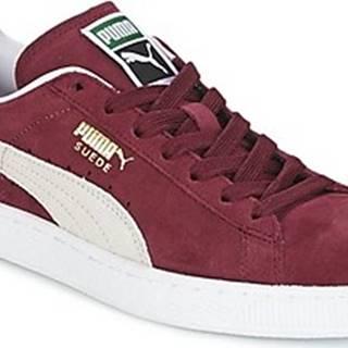 Puma Tenisky SUEDE CLASSIC Bordó