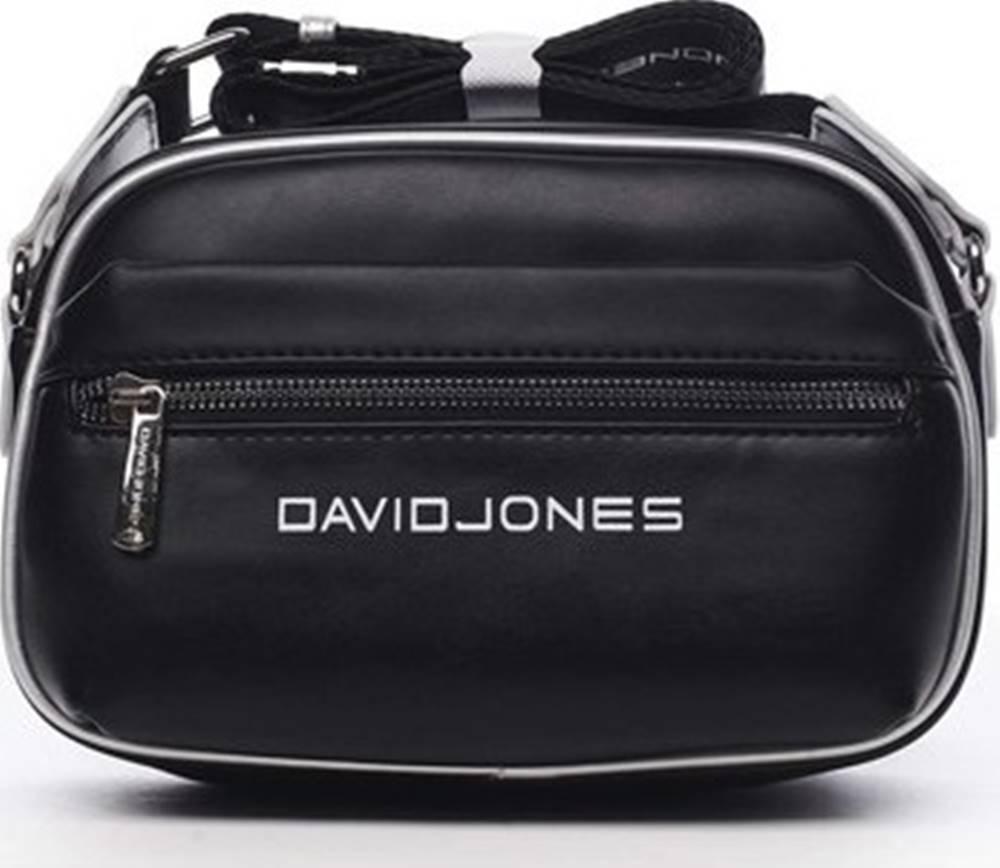 David Jones David Jones Kabelky s dlouhým popruhem Dámská crossbody kabelka černá - Jolanis Černá
